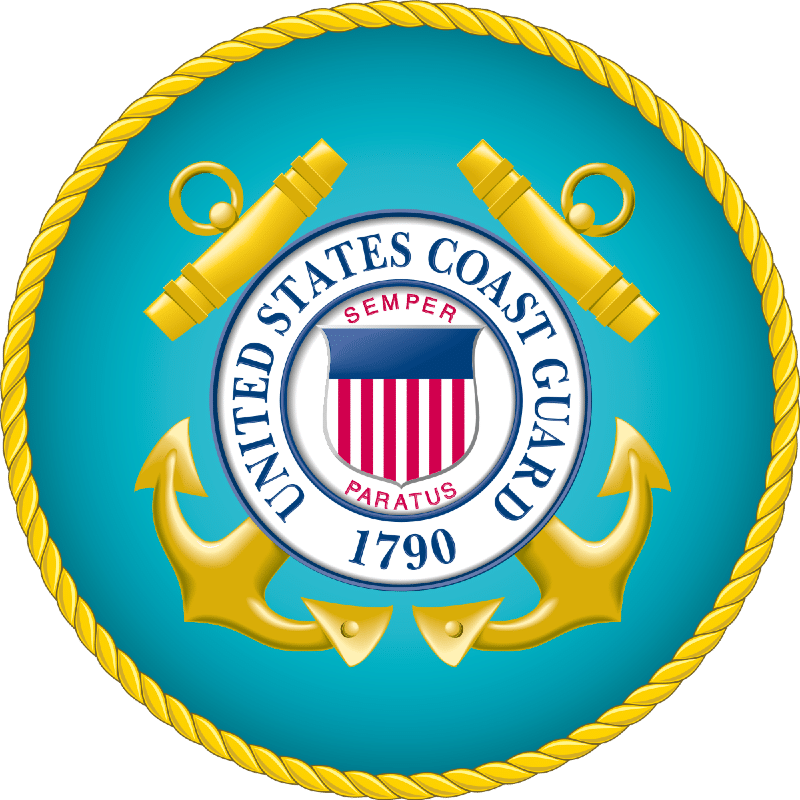 Seal of the United States Coast Guard full size