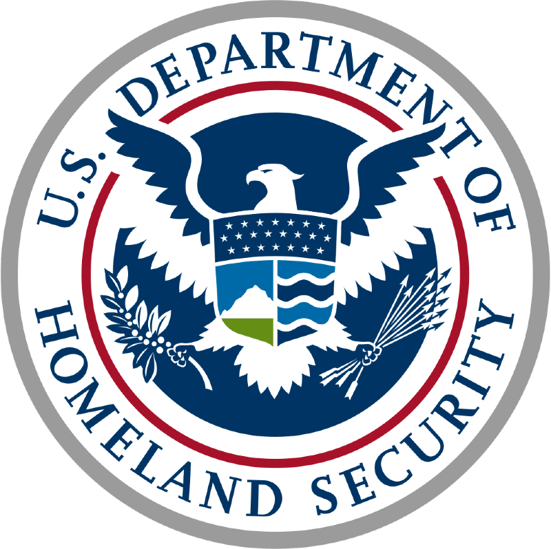 Seal of the United States Department of Homeland Security full size