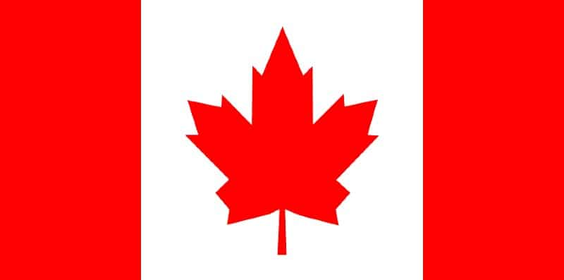 flag of canada full size