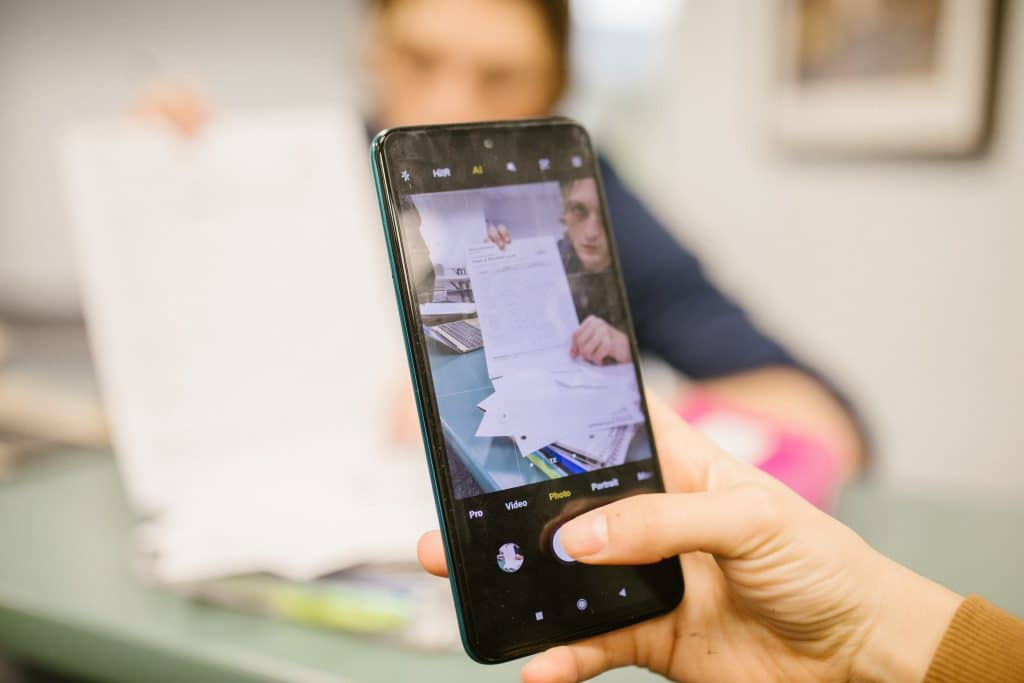 cell phone detection classroom education cheating